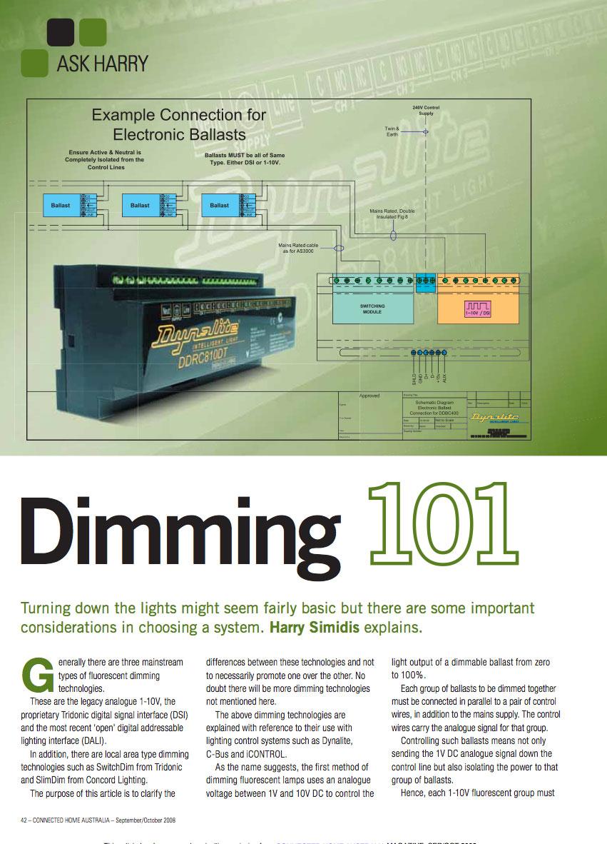 Dimming 101